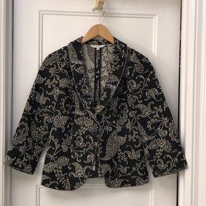 Cabi Eliza brocade jacket size 8
